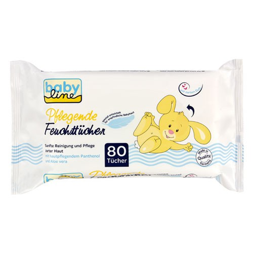 Babyline Comfort Wet Wipes 80 Classic